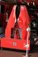 World © Octane Photographic Ltd. Scuderia Ferrari SF15-T. Wednesday 20th May 2015, F1 Pitlane, Monte Carlo, Monaco. Digital Ref: 1270LB5D2433