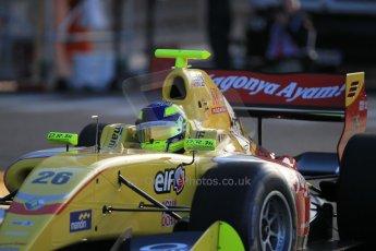 World © Octane Photographic Ltd. Friday 22nd May 2015. Jagonya Ayam with Carlin – Tom Dillmann. WSR (World Series by Renault - Formula Renault 3.5) Practice – Monaco, Monte-Carlo. Digital Ref. : 1277CB1L0024