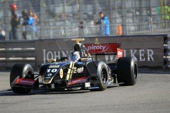 World © Octane Photographic Ltd. Friday 22nd May 2015. Lotus – Meindert van Buuren. WSR (World Series by Renault - Formula Renault 3.5) Practice – Monaco, Monte-Carlo. Digital Ref. : 1277CB1L0292