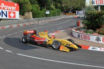 World © Octane Photographic Ltd. Saturday 23rd May 2015. Jagonya Ayam with Carlin – Sean Gelael. WSR (World Series by Renault - Formula Renault 3.5) Qualifying – Monaco, Monte-Carlo. Digital Ref. : 1280CB1L0518