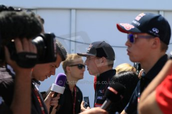 World © Octane Photographic Ltd. FIA Drivers' Press Conference video call. Thursday 4th June 2015, F1 Canadian GP, Circuit Gilles Villeneuve, Montreal, Canada. Scuderia Toro Rosso – Max Verstappen. Digital Ref: 1289CB7D8449