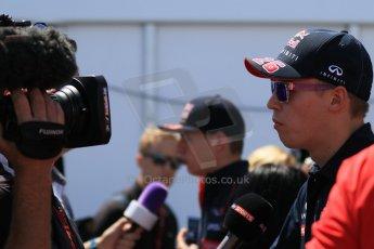 World © Octane Photographic Ltd. FIA Drivers' Press Conference video call. Thursday 4th June 2015, F1 Canadian GP, Circuit Gilles Villeneuve, Montreal, Canada. Infiniti Red Bull Racing – Daniil Kvyat. Digital Ref: 1289CB7D8451