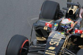 World © Octane Photographic Ltd. Lotus F1 Team E23 Hybrid – Romain Grosjean. Friday 5th June 2015, F1 Canadian GP Practice 2, Circuit Gilles Villeneuve, Montreal, Canada. Digital Ref: 1292LB7D0109