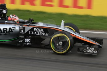 World © Octane Photographic Ltd. Sahara Force India VJM08 – Nico Hulkenberg. Friday 5th June 2015, F1 Canadian GP Practice 2, Circuit Gilles Villeneuve, Montreal, Canada. Digital Ref: 1292LB7D0224