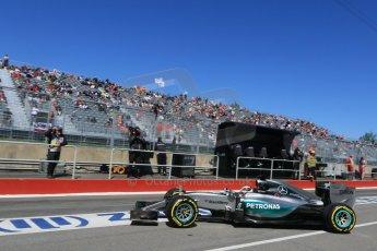 World © Octane Photographic Ltd. Mercedes AMG Petronas F1 W06 Hybrid – Lewis Hamilton. Saturday 6th June 2015, F1 Canadian GP Practice 3 pitlane, Circuit Gilles Villeneuve, Montreal, Canada. Digital Ref: 1295CB7D0917