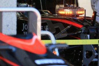 World © Octane Photographic Ltd. McLaren Honda MP4/30 – Fernando Alonso. Saturday 6th June 2015, F1 Canadian GP Practice 3 pitlane, Circuit Gilles Villeneuve, Montreal, Canada. Digital Ref: 1295LB1D0769