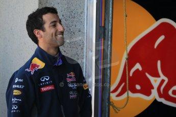 World © Octane Photographic Ltd. Infiniti Red Bull Racing RB11 – Daniel Ricciardo. Saturday 6th June 2015, F1 Canadian GP Practice 3 pitlane, Circuit Gilles Villeneuve, Montreal, Canada. Digital Ref: 1295LB1D0896