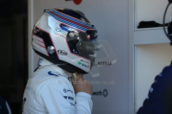 World © Octane Photographic Ltd. Williams Martini Racing FW37 – Valtteri Bottas. Saturday 6th June 2015, F1 Canadian GP Practice 3 pitlane, Circuit Gilles Villeneuve, Montreal, Canada. Digital Ref: 1295LB1D0967