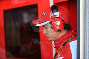 World © Octane Photographic Ltd. Scuderia Ferrari SF15-T reserve driver – Esteban Gutierrez. Saturday 6th June 2015, F1 Canadian GP Practice 3 pitlane, Circuit Gilles Villeneuve, Montreal, Canada. Digital Ref: 1295LB1D1013