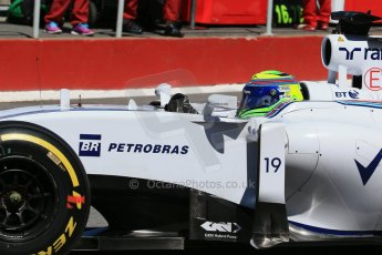 World © Octane Photographic Ltd. Williams Martini Racing FW37 – Felipe Massa. Saturday 6th June 2015, F1 Canadian GP Practice 3 pitlane, Circuit Gilles Villeneuve, Montreal, Canada. Digital Ref: 1295LB1D1485