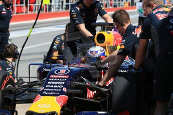 World © Octane Photographic Ltd. Infiniti Red Bull Racing RB11 – Daniel Ricciardo. Saturday 6th June 2015, F1 Canadian GP Practice 3 pitlane, Circuit Gilles Villeneuve, Montreal, Canada. Digital Ref: 1295LB1D1553