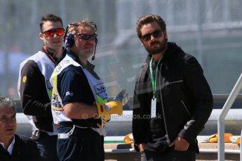 World © Octane Photographic Ltd. Scott Disick (partner of Kourtney Kardashian). Saturday 6th June 2015, F1 Practice 3 pitlane, Circuit Gilles Villeneuve, Montreal, Canada. Digital Ref: 1295CB7D0968