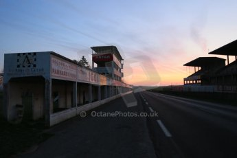 World © Octane Photographic Ltd. 7th February 2015 dawn visit to the pit buildings at the Reims-Gueux abandoned track, last used for Formula 1 in 1966. Digital Ref : 1185CB1D4728