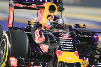 World © Octane Photographic Ltd. Infiniti Red Bull Racing RB11 – Daniil Kvyat. Friday 18th September 2015, F1 Singapore Grand Prix Practice 2, Marina Bay. Digital Ref: 1429CB7D0296