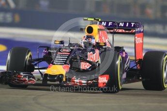 World © Octane Photographic Ltd. Infiniti Red Bull Racing RB11 – Daniil Kvyat. Friday 18th September 2015, F1 Singapore Grand Prix Practice 2, Marina Bay. Digital Ref: 1429CB7D0357