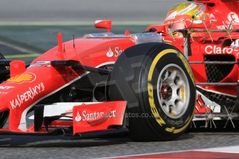 World © Octane Photographic Ltd. Scuderia Ferrari SF15-T– Esteban Gutierrez. Wednesday 13th May 2015, F1 In-season testing, Circuit de Barcelona-Catalunya, Spain. Digital Ref: 1269CB7D1936