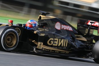 World © Octane Photographic Ltd. Lotus F1 Team E23 Hybrid – Jolyon Palmer. Wednesday 13th May 2015, F1 In-season testing, Circuit de Barcelona-Catalunya, Spain. Digital Ref: 1269CB7D2177