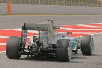 World © Octane Photographic Ltd. Mercedes AMG Petronas F1 W06 Hybrid – Pascal Wehrlein. Wednesday 13th May 2015, F1 In-season testing, Circuit de Barcelona-Catalunya, Spain. Digital Ref: 1269CB7D2252