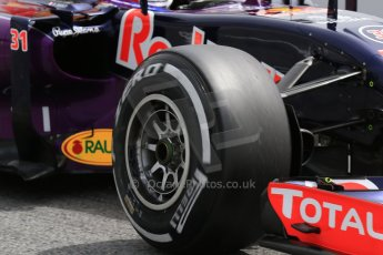 World © Octane Photographic Ltd. Infiniti Red Bull Racing RB11 – Pierre Gasly. Wednesday 13th May 2015, F1 In-season testing, Circuit de Barcelona-Catalunya, Spain. Digital Ref: 1269CB7D2287
