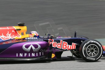 World © Octane Photographic Ltd. Infiniti Red Bull Racing RB11 – Pierre Gasly. Wednesday 13th May 2015, F1 In-season testing, Circuit de Barcelona-Catalunya, Spain. Digital Ref: 1269LB1D2860