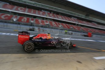 World © Octane Photographic Ltd. Infiniti Red Bull Racing RB11 – Pierre Gasly. Wednesday 13th May 2015, F1 In-season testing, Circuit de Barcelona-Catalunya, Spain. Digital Ref: 1269LB5D2356