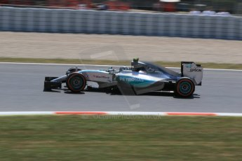 World © Octane Photographic Ltd. Mercedes AMG Petronas F1 W06 Hybrid – Nico Rosberg. Saturday 9th May 2015, F1 Spanish GP Qualifying, Circuit de Barcelona-Catalunya, Spain. Digital Ref: 1257CB7D8056