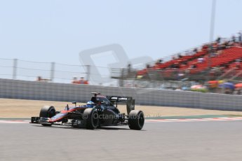 World © Octane Photographic Ltd. McLaren Honda MP4/30 – Fernando Alonso. Saturday 9th May 2015, F1 Spanish GP Qualifying, Circuit de Barcelona-Catalunya, Spain. Digital Ref: 1257CB7D8239