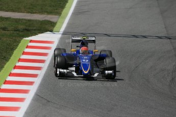World © Octane Photographic Ltd. Sauber F1 Team C34-Ferrari – Felipe Nasr. Saturday 9th May 2015, F1 Spanish GP Qualifying Circuit de Barcelona-Catalunya, Spain. Digital Ref: 1257LB1D8547