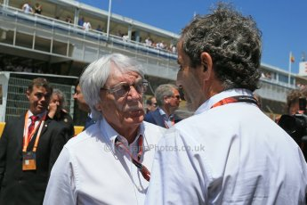 World © Octane Photographic Ltd. Bernie Ecclestone. Sunday 10th May 2015, F1 Spanish GP Formula 1 Grid, Circuit de Barcelona-Catalunya, Spain. Digital Ref: 1264LB1D0193