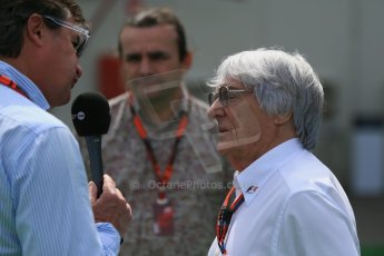 World © Octane Photographic Ltd. Bernie Ecclestone. Sunday 10th May 2015, F1 Spanish GP Formula 1 Paddock, Circuit de Barcelona-Catalunya, Spain. Digital Ref: 1264LB1D9952