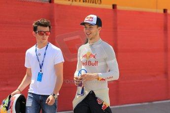 World © Octane Photographic Ltd. Friday 8th May 2015. DAMS – Pierre Gasly. GP2 Qualifying – Circuit de Barcelona–Catalunya. Spain. Digital Ref. : 1252CB1L6777
