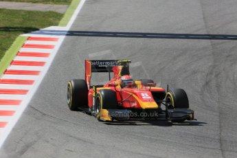 World © Octane Photographic Ltd. Friday 8th May 2015. Racing Engineering – Alexander Rossi. GP2 Qualifying – Circuit de Barcelona–Catalunya. Spain. Digital Ref. : 1252CB5D1367
