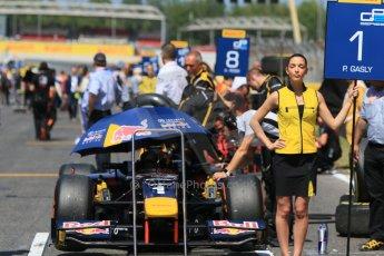 World © Octane Photographic Ltd. Saturday 9th May 2015. DAMS – Pierre Gasly. GP2 Race 1 – Circuit de Barcelona–Catalunya. Spain. Digital Ref: