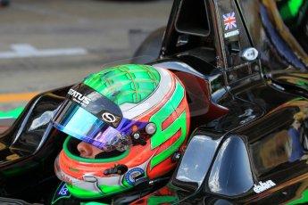 World © Octane Photographic Ltd. Friday 8th May 2015. Status Grand Prix – Seb Morris. GP3 Practice – Circuit de Barcelona–Catalunya. Spain. Digital Ref. : 1253CB1L6877