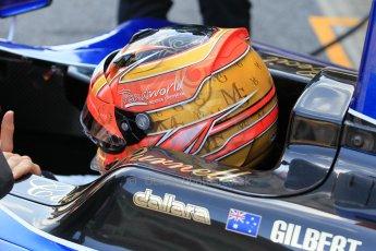 World © Octane Photographic Ltd. Friday 8th May 2015. Carlin – Mitchell Gilbert. GP3 Practice – Circuit de Barcelona–Catalunya. Spain. Digital Ref. : 1253CB1L6907