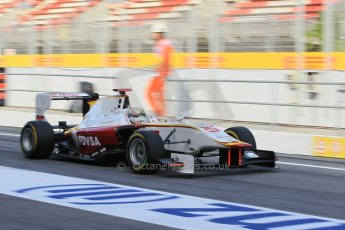 World © Octane Photographic Ltd. Friday 8th May 2015. Campos Racing – Samin Gomez. GP3 Practice – Circuit de Barcelona–Catalunya. Spain. Digital Ref. : 1253CB1L6974