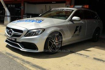 World © Octane Photographic Ltd. Mercedes AMG C63 Estate Medical Car. Thursday 7th May 2015, F1 Spanish GP v, Circuit de Barcelona-Catalunya, Spain. Digital Ref: 1244CB1L5866