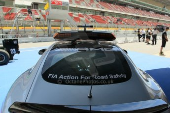 World © Octane Photographic Ltd. Mercedes AMG GTS Safety Car. Thursday 7th May 2015, F1 Spanish GP Pitlane, Circuit de Barcelona-Catalunya, Spain. Digital Ref: 1244CB1L5876