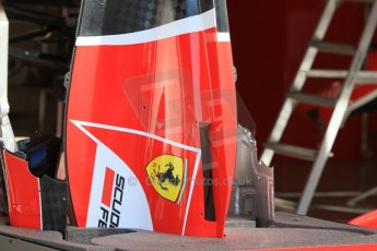 World © Octane Photographic Ltd. Scuderia Ferrari SF15-T. Thursday 7th May 2015, F1 Spanish GP Pitlane, Circuit de Barcelona-Catalunya, Spain. Digital Ref: 1244CB7D1242