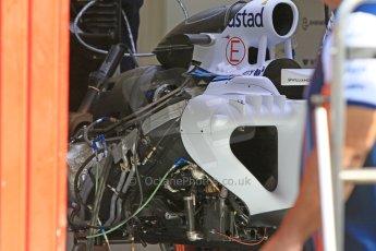 World © Octane Photographic Ltd. Williams Martini Racing FW37. Thursday 7th May 2015, F1 Spanish GP Pitlane, Circuit de Barcelona-Catalunya, Spain. Digital Ref: 1244CB7D1252