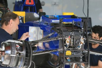 World © Octane Photographic Ltd. Sauber F1 Team Reserve Driver– Raffaele Marciello. Thursday 7th May 2015, F1 Spanish GP Pitlane Circuit de Barcelona-Catalunya, Spain. Digital Ref: 1244CB7D1346