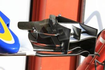 World © Octane Photographic Ltd. Sauber F1 Team C34-Ferrari. Thursday 7th May 2015, F1 Spanish GP Pitlane, Circuit de Barcelona-Catalunya, Spain. Digital Ref: 1244CB7D1351