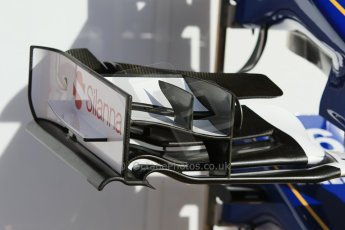 World © Octane Photographic Ltd. Sauber F1 Team C34-Ferrari. Thursday 7th May 2015, F1 Spanish GP Pitlane, Circuit de Barcelona-Catalunya, Spain. Digital Ref: 1244CB7D1353
