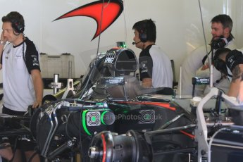 World © Octane Photographic Ltd. McLaren Honda MP4/30. Thursday 7th May 2015, F1 Spanish GP Pitlane, Circuit de Barcelona-Catalunya, Spain. Digital Ref: 1244CB7D1640
