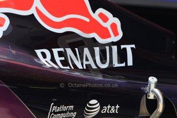 World © Octane Photographic Ltd. Infiniti Red Bull Racing RB11. Thursday 7th May 2015, F1 Spanish GP Pitlane, Circuit de Barcelona-Catalunya, Spain. Digital Ref: 1244CB7D1659