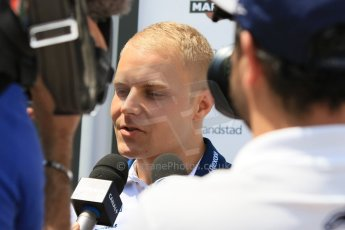World © Octane Photographic Ltd. Williams Martini Racing FW37 – Valtteri Bottas. Thursday 7th May 2015, F1 Spanish GP Paddock, Circuit de Barcelona-Catalunya, Spain. Digital Ref: 1244CB7D1674