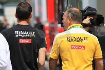 World © Octane Photographic Ltd. Renault Sport F1. Thursday 7th May 2015, F1 Spanish GP Paddock, Circuit de Barcelona-Catalunya, Spain. Digital Ref: 1244CB7D1708