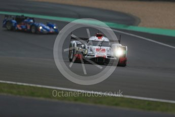 World © Octane Photographic Ltd. FIA World Endurance Championship (WEC), 6 Hours of Nurburgring , Germany - Practice, Friday 28th August 2015. Audi Sport Team Joest- Audi R18 e-tron Quatrro - LMP1 - Andre Lotterer, Benoit Treluyer and Marcel Fassler and Signatech Alpine – Alpine A450b - LMP2 - Nelson Panciatici, Paul-Loup Chatin and Vincent Capillaire. Digital Ref : 1392LB1D2886