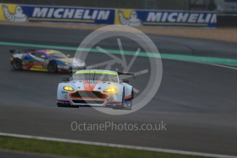 World © Octane Photographic Ltd. FIA World Endurance Championship (WEC), 6 Hours of Nurburgring , Germany - Practice, Friday 28th August 2015. Aston Martin Racing – Aston Martin Vantage V8 - LMGTE Pro – Darren Turner, Stefan Mucke and Jonathan Adam and AF Corse – Ferrari F458 Italia GT2 - LMGTE Pro – Davide Rigon and James Calado. Digital Ref : 1392LB1D2996