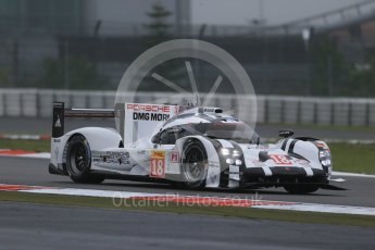 World © Octane Photographic Ltd. FIA World Endurance Championship (WEC), 6 Hours of Nurburgring , Germany - Practice, Friday 28th August 2015. Porsche Team – Porsche 919 Hybrid - LM LMP1 – Romain Dumas, Neel Jani and Marc Lieb. Digital Ref : 1392LB1D3146